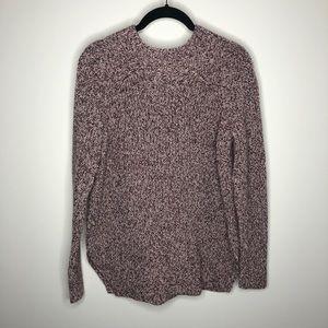 LOFT Knit Sweater Wine